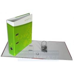 VÝPRODEJ - Pořadač HIT A4 7cm pákový lamino rado Jaro zelený