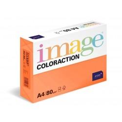 .Papír COLORACTION A4 80g/500 Amsterdam cihlově oranžová OR43