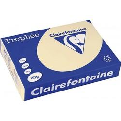 Zboží na objednávku - Papír Clairefontaine A3/160g/250 1066 chamois