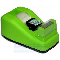 Zásobník odvíječ pásky LINEX + lepicí páska 19x33 zelená