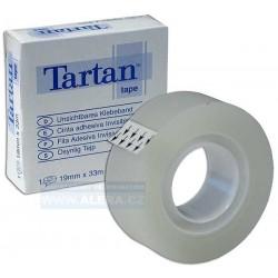 Páska lepicí 19x33m 3M TARTAN popisovatelná