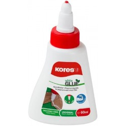 Lepidlo Kores White glue 60ml / i na dřevo