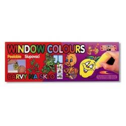 Zboží na objednávku - Barva na sklo slupovací 9x22ml+1x40ml Koh-i-noor 9740