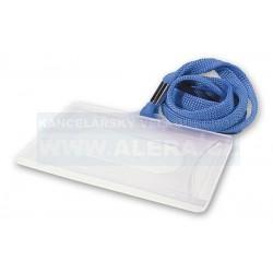 Visačka na magnetické karty se šňůrkou IDS P 1ks modrá šňůrka