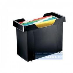 Zboží na objednávku - Zásobník na závěsné desky LEITZ PLUS černá 19931095