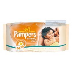 Vlhčené toaletní ubrousky Pampers 64ks - rodinné balení