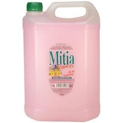 Mitia Family Spring Flowers - tekuté mýdlo 5 litrů růžová