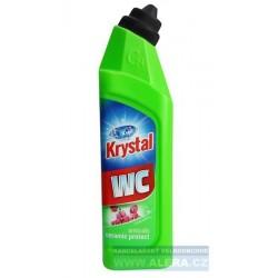 Krystal 750ml - čistič na WC anticalc zelený
