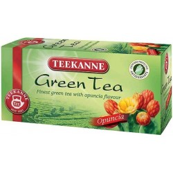 Čaj TEEKANNE zelený + opuncie