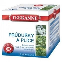 Čaj TEEKANNE bylinný Průdušky a plíce