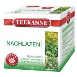Čaj TEEKANNE bylinný Nachlazení, Dýchací cesty a krk