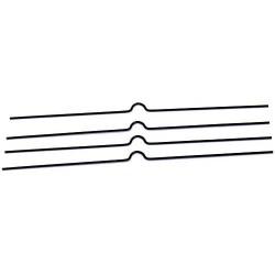 Zboží na objednávku - Háčky pro kalendáře 100mm/100 kusů bílá