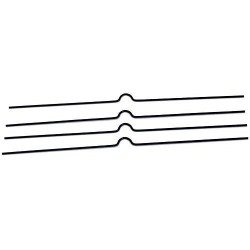 Zboží na objednávku - Háčky pro kalendáře 200mm/100 kusů bílá