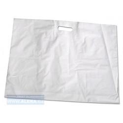 Taška PE průhmat 1ks 62x51cm oděvní bílá