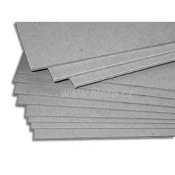 Papír lepenka 2mm 700x1000mm šedá/bílá