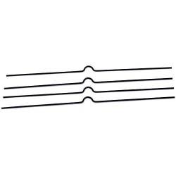 Zboží na objednávku - Háčky pro kalendáře 100mm/100 kusů černá