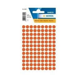 Doprodej - Etikety Herma červené kolečko 8mm 540ks