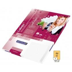 Zboží na objednávku - Fólie R0558 A4 50listů zlatá lesklá samolepicí laser/copy