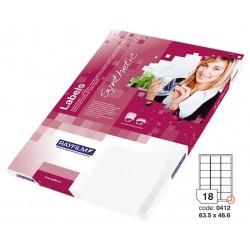 Zboží na objednávku - Fólie R0504 A4 100listů bílá lesklá samolepicí laser/copy 63,5x46,6