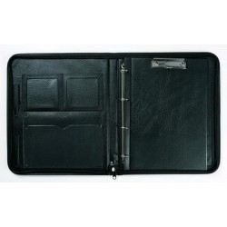 Diplomatka A4 zip mechanika psací podložka Hanibal černá