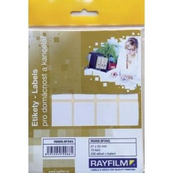 Zboží na objednávku - Etikety R0009 /10listů A6 21 x 34mm
