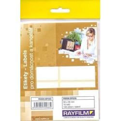 Zboží na objednávku - Etikety R0009 /10listů A6 56 x 26mm