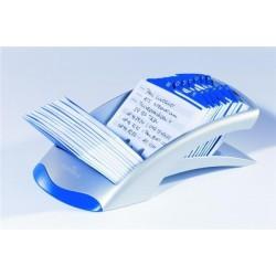 Kartotéka TELINDEX Durable 2412 stříbrná modrá