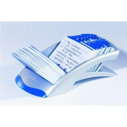 Zboží na objednávku - Kartotéka TELINDEX Durable 2412 stříbrná modrá