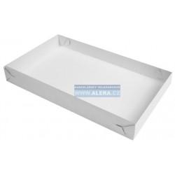 Zboží na objednávku - Krabice na chlebíčky 34x21x4cm /50ks