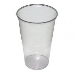 Kelímek-plast 0,5/50ks transparentní