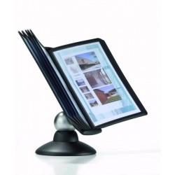 SHERPA® motion stojan a 10 tabulí Durable 5587 černá