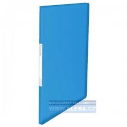 VÝPRODEJ - Katalogová kniha A4 Esselte Vivida 20kapes modrá 623990