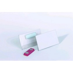 Zboží na objednávku - Visačka s magnetem 54x90mm 25ks Durable 8117