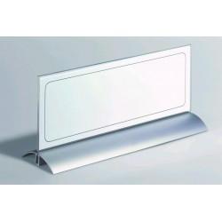 Zboží na objednávku - Stolní jmenovka 105x297mm Desk Presenter de Luxe Durable 8203 1ks v balení