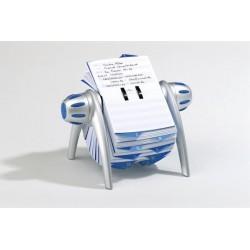 Kartotéka TELINDEX flip Durable 2416 stříbrná