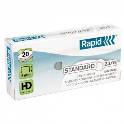 Spony do sešívačky 23/6 1000ks Rapid Standard