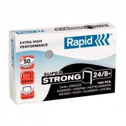Spony do sešívačky 24/8+ 1000ks Rapid Super Strong ostřené