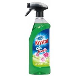 Krystal WC olejový osvěžovač vzduchu 750ml + MR zelený