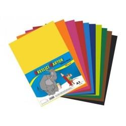 Kreslící karton barevný A3/50 listů 180gr. 5x10 barev