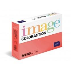 Zboží na objednávku - Papír COLORACTION A3 80g/500 Chile jahodově červená CO44