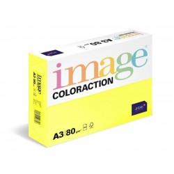 Zboží na objednávku - Papír COLORACTION A3 80g/500 Canary středně žlutá CY39