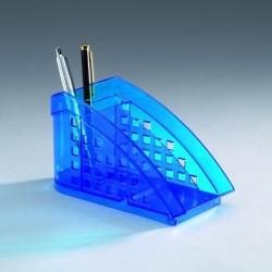 Organizér na psací potřeby Trend Durable 1701627540 transparentní modrá