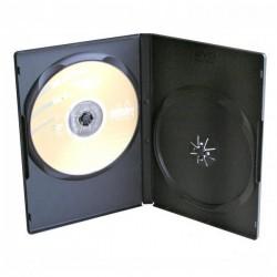 Box na DVD/2ks černý slim