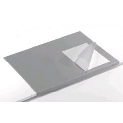 Podložka na stůl 65cm x 50cm Durable 7293 s hranou šedá