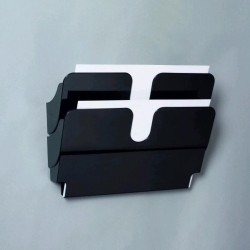 VÝPRODEJ - FLEXIPLUS 2 A4 Durable 1709014060 na šířku černá
