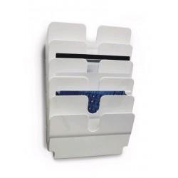Zboží na objednávku - FLEXIPLUS 6 A4 Durable 1700014011 na šířku bílá