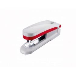 Zboží na objednávku - Sešívačka Novus E 25 25listů červená šedá