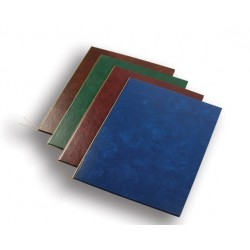 Deska A4 dvojitá 1ks na diplomy certifikáty imitace kůže modrá