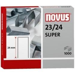 Spony do sešívačky 23/24 1000ks Novus Super