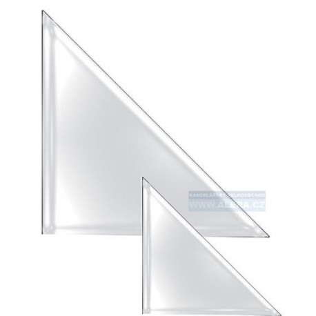 Obal PVC samolepicí růžek A5 110x110mm, 10ks
